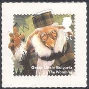 GB 2014 Uncle Bulgaria  /  Wombles  /  Children's TV  /  Television  /  Puppets 1v s  /  a (b7387f)
