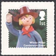 GB 2014 Windy Miller  /  Camberwick Green  /  Children's TV  /  Television  /  Puppets 1v b7387d