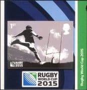 GB - Great Britain 2015 Rugby World Cup Championships/ Sports/ Games/ WC 1v s/a (ex bklt) (b7810w)