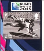 GB - Great Britain 2015 Rugby World Cup Championships/ Sports/ Games/ WC 1v s/a (ex bklt) (b7810x)