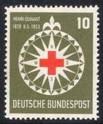 Germany 1953 Red Cross/ Medical/ Health/ Welfare/ Henri Dunant/ People 1v (n30385)