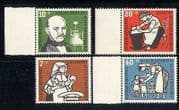 Germany 1956 Medical  /  Nurses  /  Health  /  Doctor 4v set n27888
