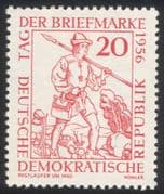 Germany 1956 Stamp Day/ Courier/ Postal Carrier/ Post/ Mail/ Animation 1v (n44578)