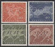 Germany 1960 Olympics  /  Sports  /  Olympic Games  /  Horses  /  Athletes  /  Wrestling 4v (n35406)