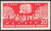 Germany 1961 Marx/ Lenin/ Engels/ People/ Politics/ Socialism/ Government 1v (n44574)