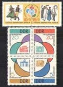 Germany 1962 Games  /  Buildings  /  Bird  /  Dance 6v set (n28299)