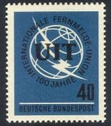 Germany 1965 ITU-UIT  /  Telecomms  /  Radio  /  Space 1v (n27780)