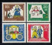 Germany 1966 Frog Prince/ Grimm's Fairy Tales/ Stories/ Animation 4v set (n27884)