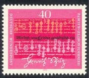 Germany 1972 Heinrich Schutz  /  Music  /  Composers  /  Arts  /  People 1v (n33404)