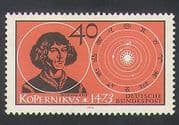 Germany 1973 Copernicus  /  Science  /  People  /  Astronomy  /  Solar System  /  Sun 1v (n35408)