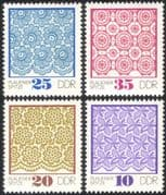 Germany 1974 Lace-making/ Crafts/ Textiles/ Design/ Business/ Commerce 4v set (n44576)