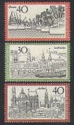 Germany 1974 Tourism  /  Boats  /  Buildings  /  Transport  /  Mining  /  Commerce 3v set (n35404)