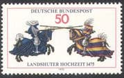 Germany 1975 Horses/ Knights/ Armour/ Jousting/ Sports/ Festival/ Animals 1v (n42092)