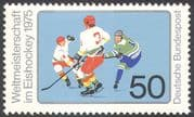 Germany 1975 Ice Hockey World Championships/ Winter Sports/ Skating 1v (n42091)