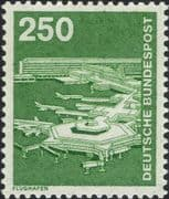 Germany 1975 Industry/ Technology/ Aircraft/ Airport/ Transport/ Planes 1v (n29148u)