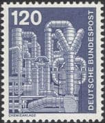Germany 1975 Industry/ Technology/ Chemical Plant/ Chemicals/ Factory 1v (n29148m)