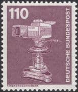 Germany 1975 Industry/ Technology/ Colour Television Camera/ TV 1v (n29148k)