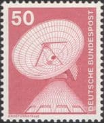 Germany 1975 Industry/ Technology/ Dish Aerial/ Radio/ Telecommunications/ Telecomms 1v (n29148e)