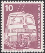 Germany 1975 Industry/ Technology/ Electric Locomotive/Trains/ Rail/ Railways/ Transport 1v (n29148
