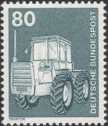 Germany 1975 Industry/ Technology/ Farm Tractor/ Transport/ Farming 1v (n29148h)