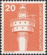 Germany 1975 Industry/ Technology/ Lighthouse/ Nautical/ Buildings/ Architecture 1v (n29148b)