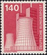 Germany 1975 Industry/ Technology/ Power Station/ Energy/ Electricity 1v (n29148p)