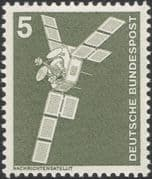 Germany 1975 Industry/ Technology/ Satellite/ Space/ Telecomms/ Radio 1v (n29148a)