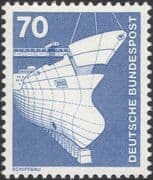 Germany 1975 Industry/ Technology/ Ship Building/ Transport/ Boats 1v (n29148g)