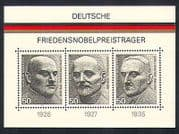 Germany 1975 Nobel Peace Prize Winners  /  People 3v m  /  s (n32789)