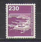 Germany 1975 Plane  /  Airport  /  Transport  /  Aviation 1v n25087