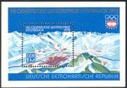 Germany 1975 Winter Olympics/ Olympic Games/ Sports/ Mountains/ Maps 1v m/s (n32287)