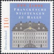 Germany 1977 Franke Charities/ Charity/ Buildings/ Architecture 1v (n45477)