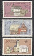 Germany 1978 Europa  /  Town Halls  /  Buildings  /  Architecture  /  Animation 3v set (n35345)