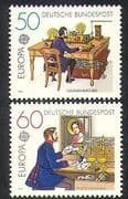 Germany 1979 Europa  /  Post  /  Mail  /  Telegraph  /  Post Office  /  Communications 2v set n36461