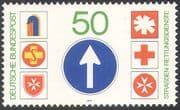 Germany 1979 Red Cross/ Rescue Services/ Road Transport/ Motoring 1v (n29753)