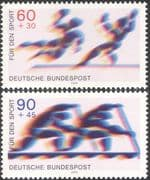 Germany 1979 Sports Fund/ Games/ Handball/ Canoeing/ Canoes/ Boats/ Animation 2v set (n43529)