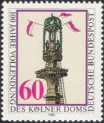 Germany 1980 Cologne Cathedral/ Buildings/ Architecture/ Heritage 1v (n45502)