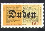 Germany 1980 Duden  /  Writers  /  People  /  Language  /  Dictionary  /  Communications 1v (n37246)