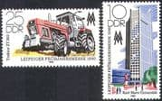 Germany 1980 Tractor/ Transport/ University Building/ Spring Fair 2v set (n28054)