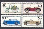 Germany 1982 Cars  /  Transport  /  Motors 4v set (n25311)