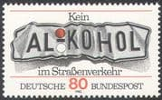 Germany 1982 Road Safety/ Drink/ Drive/ Motoring/ Transport/ Alcohol 1v (n23587)