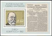 Germany 1982 Robert Koch/ Medical/ Health/ Welfare/ TB/ Bacteria/ People 1v m/s (n28584)