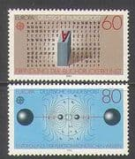 Germany 1983 Europa/ Printing/ Science/ Physics/ Technology 2v set (n23583)