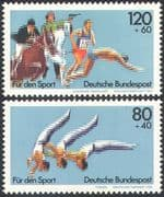 Germany 1983 Modern Pentathlon/ Horse/ Fencing/Shooting/ Gymnastics/ Sports/ Games 2v set (n27508)