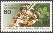 Germany 1985 World Scouts Conference/ Scouting/ People/ Leisure/ Youth 1v (n20368)
