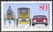 Germany 1986 Cars/ Transport/ Motoring Centenary/ History/ Motors/ Vehicles 1v (n27674)