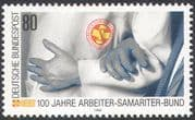 Germany 1988 Medical/ Health/ Welfare/ First Aid/ Samaritan Workers 1v (n27531)