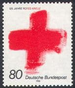 Germany 1988 Red Cross 125th Anniversary/ Medical/ Health/ Welfare 1v (n20394)