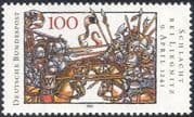 Germany 1991 Military/ Battle of Legnica/ Horses/ Knights/ Cavalry/ Animation 1v (n33573)