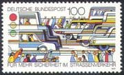 Germany 1991 Road Safety Campaign/ Cars /Buses/ Transport/ Animation 1v (n27676)